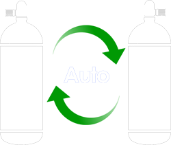 tank auto switch icon