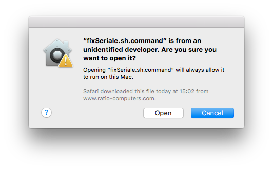 how to run a sh file in mac